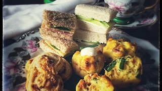 Vintage Afternoon Tea Sandwiches