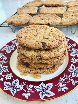 Chocolate Chip & Coconut Cookies