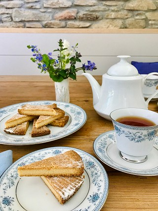 Traditional Shortbread and afternoon tea